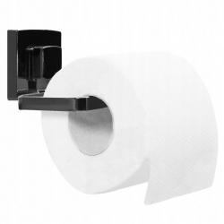 Uchwyt na papier toaletowy czarny