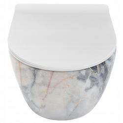 Misa WC Podwieszana Carlos Granit Shine Rea