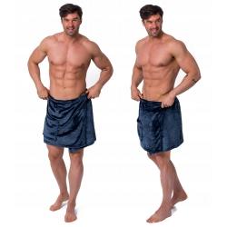Ręcznik Męski Kilt do Sauny Blue L/XL