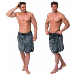 Ręcznik Męski Kilt do Sauny Grey S/M