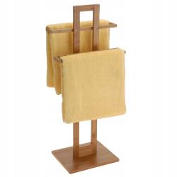 Wieszak Na Ręczniki Bambusowy