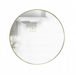 Lustro ze złotą ramą 50 cm