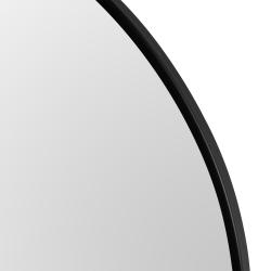 Lustro z czarną ramą 60 cm