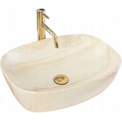 Umywalka Nablatowa Rea Freja Bianco